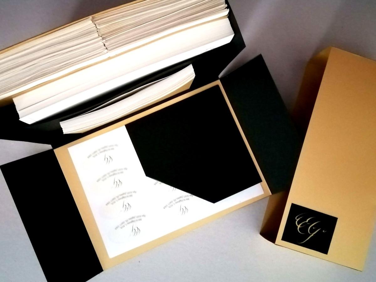 Handmade bespoke Stationery Set